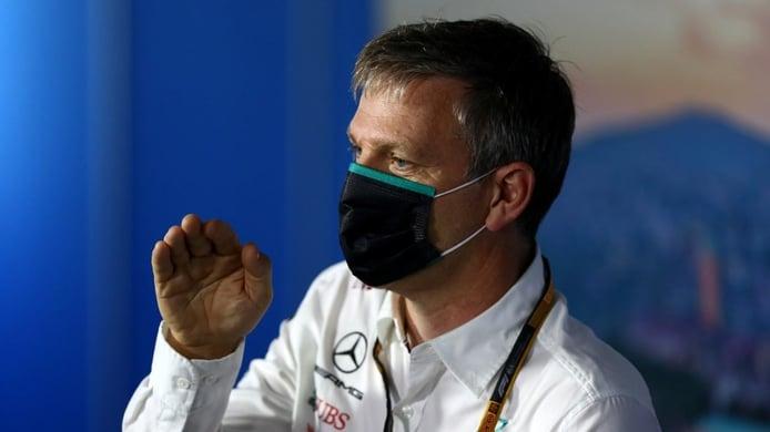 Allison matiza las palabras de Wolff: Mercedes seguirá mejorando su W12