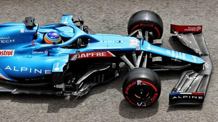 Alonso exprime el Alpine al máximo: «Esta vez estaba contento desde la Q1»
