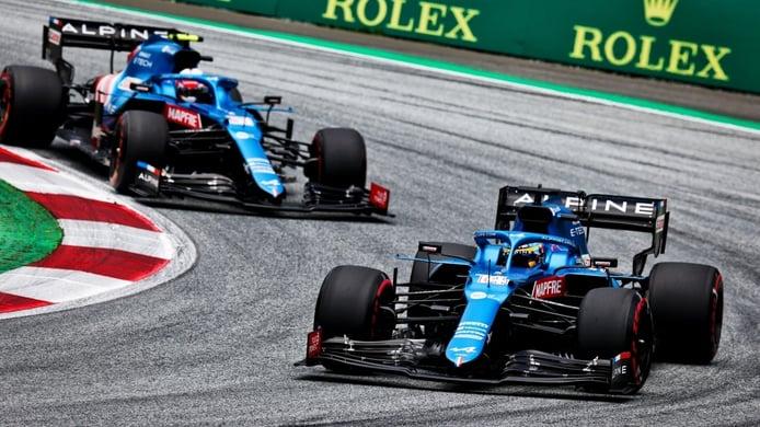 Alpine alaba la actitud de Alonso: «Nunca culpó al coche o al equipo»