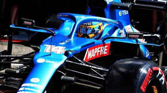 Alonso se ve muy fuerte en Paul Ricard: «Hemos ido muy bien en condiciones difíciles»
