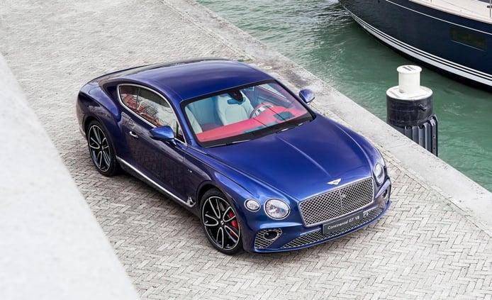Nuevo one-off del Bentley Continental GT Coupé V8 con una inspiración náutica
