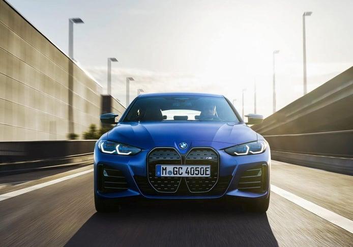 BMW i4 2021, debuta la berlina eléctrica con versión deportiva incluida i4 M50