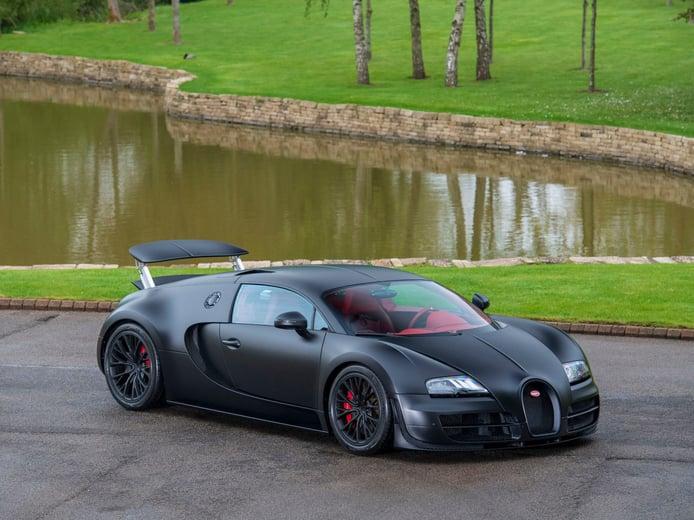 El último Bugatti Veyron Super Sport fabricado de nuevo a la venta