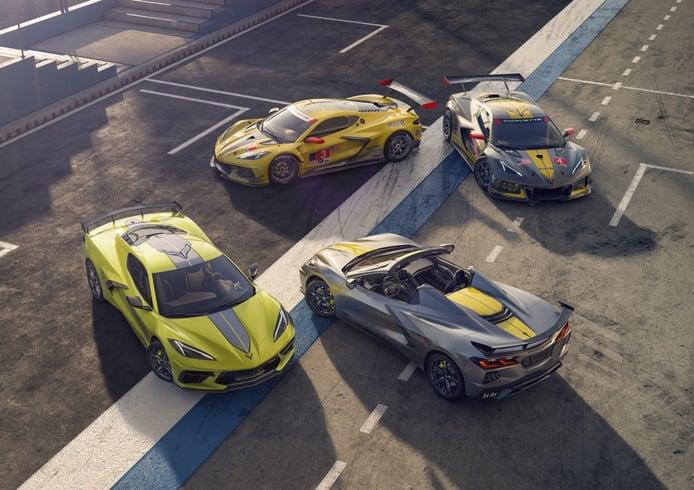 El Chevrolet Corvette 2022 estrena edición limitada con los colores de Corvette Racing
