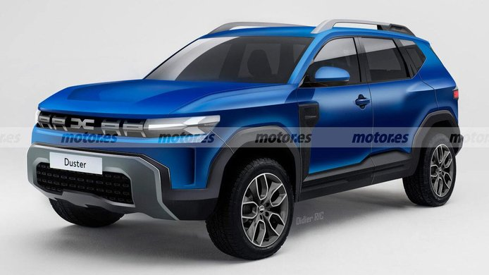 Dacia Duster 2024, la tercera generación traerá un cambio radical de diseño