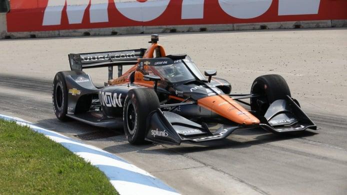 Espectacular triunfo de Pato O'Ward y podio para Álex Palou en Detroit