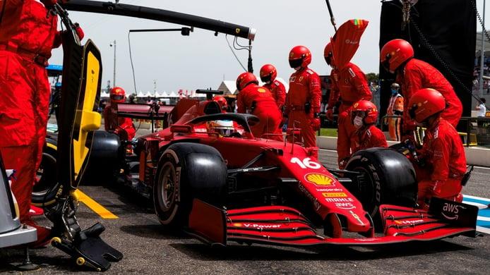Ferrari no espera resolver sus problemas de neumáticos hasta 2022