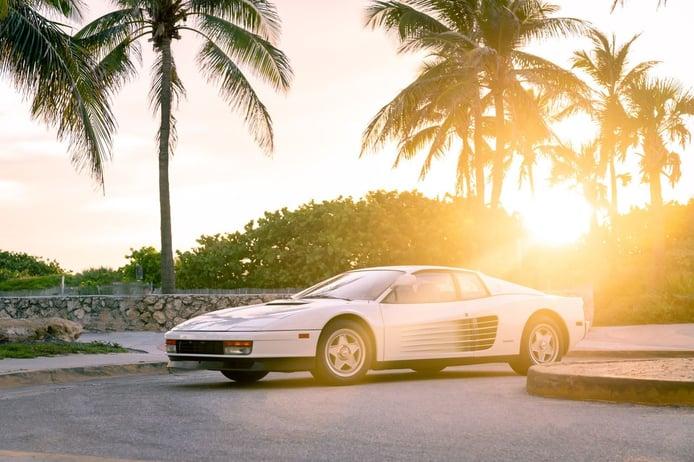 El último Ferrari Testarossa original de Miami Vice disponible por primera vez en 30 años