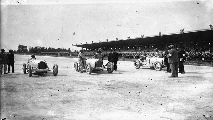 Gran Premio de Francia de 1926: tres en la salida, uno en la llegada