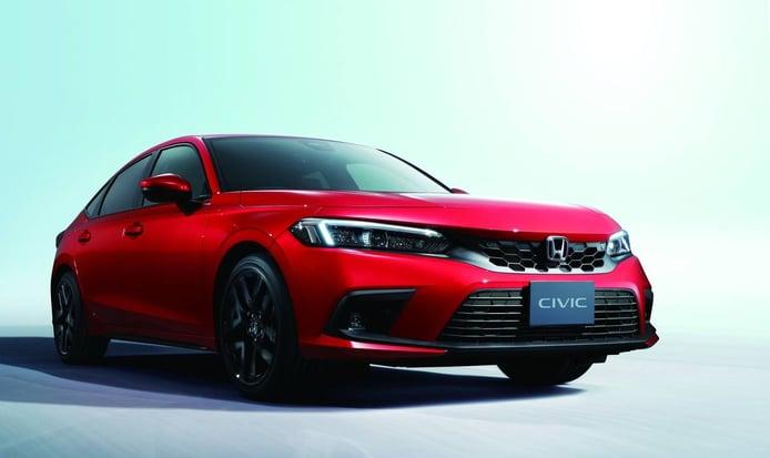 El nuevo Honda Civic 2022 solo estará disponible como híbrido en Europa