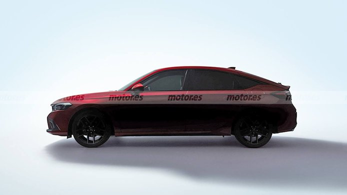 El nuevo Honda Civic 2022 con carrocería hatchback al descubierto en este teaser