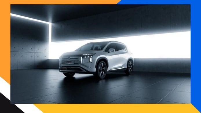 Filtrado el nuevo Mitsubishi Airtrek, al desnudo el SUV eléctrico para China