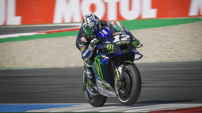 Maverick Viñales lidera el doblete de Yamaha en la Q2 del TT Assen