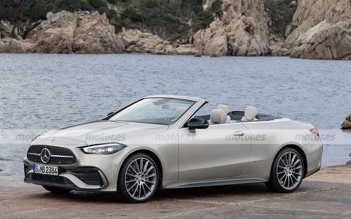 Adelanto del futuro Mercedes CLE 2023, el futuro Cabrio dos en uno de la estrella
