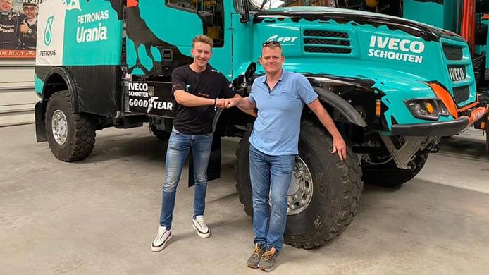 Mitchel Van den Brink ficha por Iveco De Rooy para el Dakar 2022