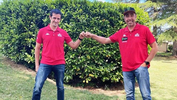 Nani Roma y Álex Haro se reúnen en el equipo Bahrain Raid Xtreme