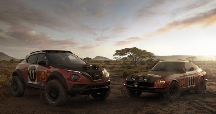 El Nissan JUKE Rally Tribute Concept, el SUV más radical que no podrás tocar