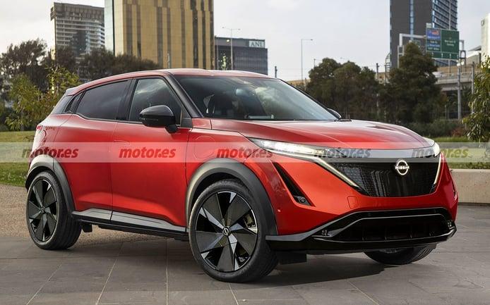 Adelanto del hermano pequeño del Nissan Ariya, un nuevo modelo para 2023