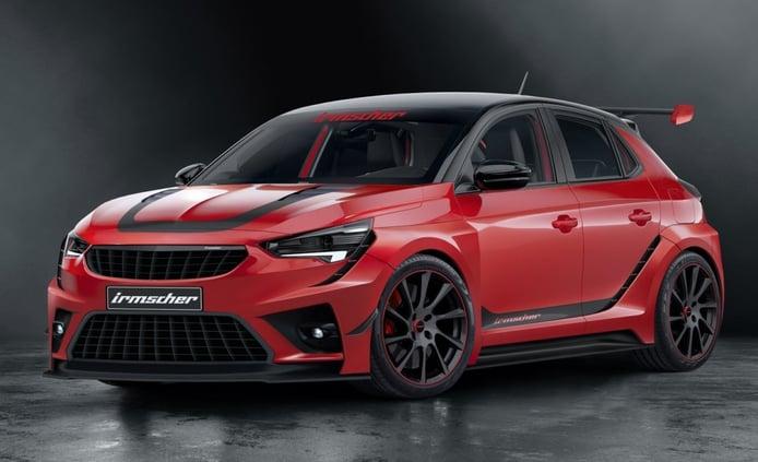 Irmscher Opel Corsa iRC, un estudio de diseño tan radical como el extinto OPC