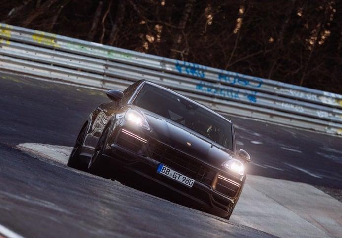 El Porsche Cayenne Coupé destroza los cronómetros