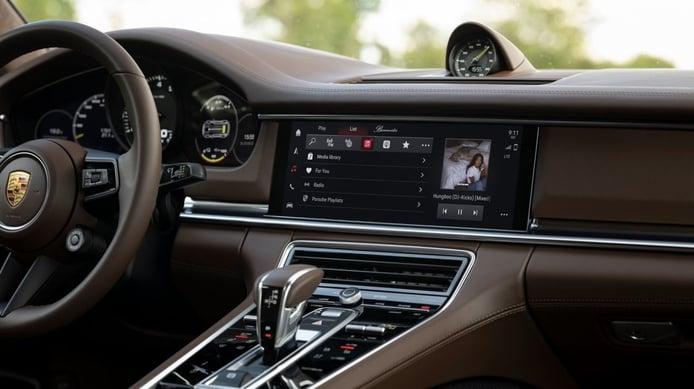 El sistema multimedia Porsche PCM mejorado con aplicaciones y funciones más avanzadas