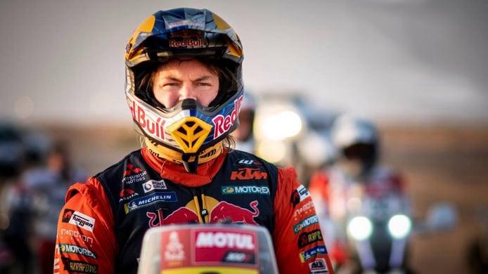 Toby Price y KTM amplían su vínculo con el 'Touareg' como gran objetivo