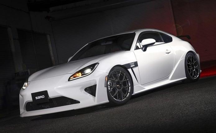 SARD transforma el nuevo Toyota GR 86 en un agresivo deportivo plagado de carbono