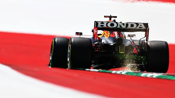 Verstappen domina en la fiesta de los límites de pista del Red Bull Ring