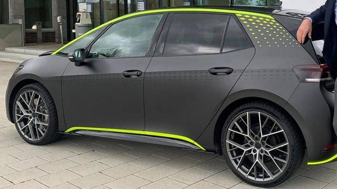 El Volkswagen ID.3 R será el primer eléctrico de una futura gama muy deportiva