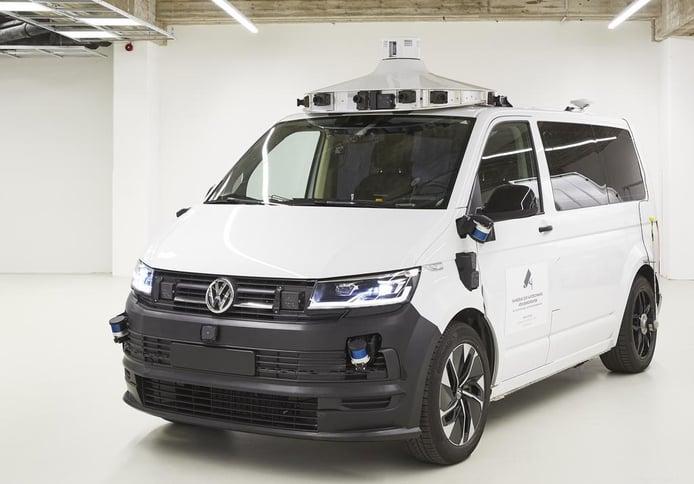 Las mulas del Volkswagen ID. Buzz autónomo, listas para sus pruebas