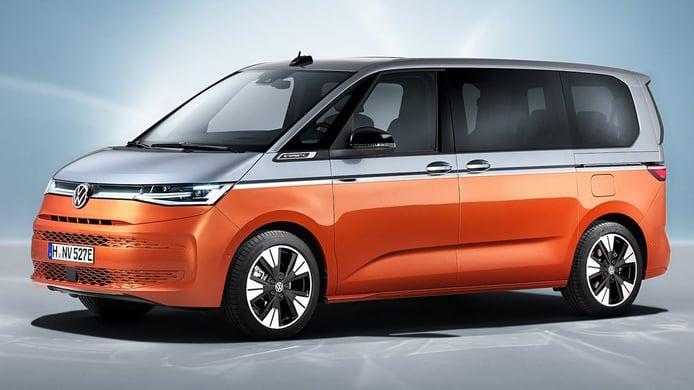 Volkswagen Multivan 2022, una furgoneta adaptada a la era de la electrificación