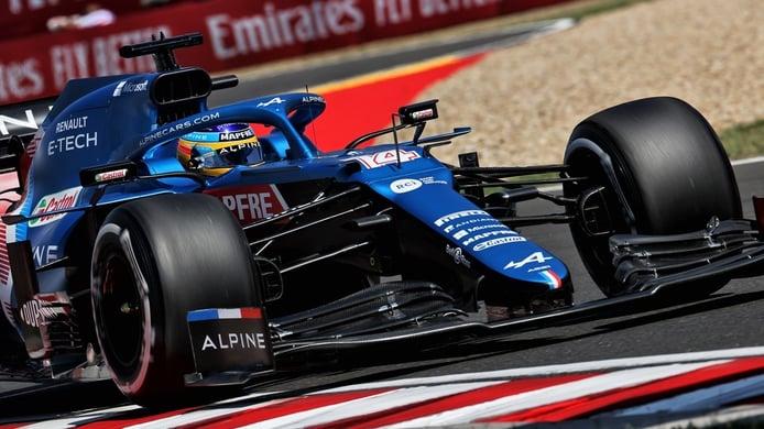 Alonso arranca con fuerza: «Nos estamos acercando»
