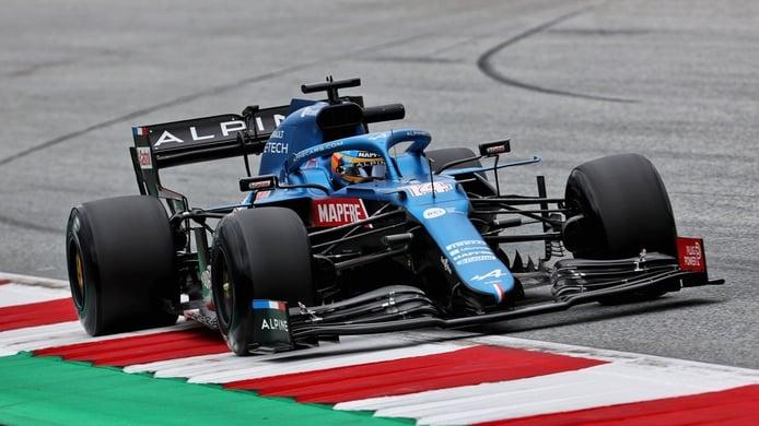 Alonso repite en el Top 10: «Hay más ritmo por venir»