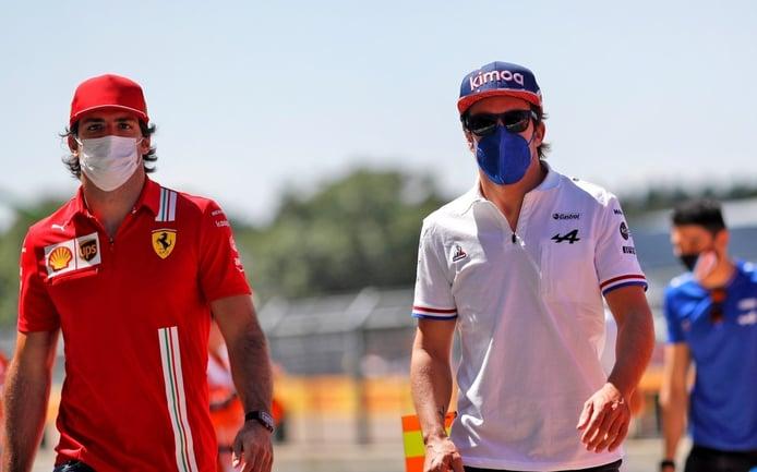 Alonso y Sainz aprueban el formato sprint y sugieren mejoras