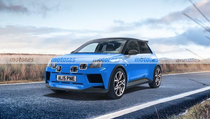 Alpine 5 2024, un adelanto del futuro deportivo eléctrico y heredero del Clio RS