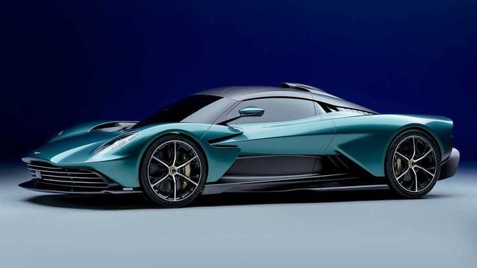 El Aston Martin Valhalla llega con una nueva mecánica híbrida V8 de 950 CV