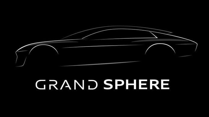 Las líneas maestras del Audi Grand Sphere Concept se descubren