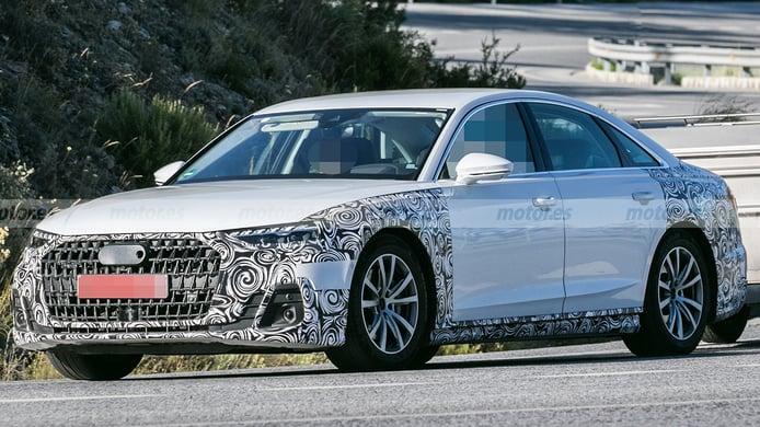 El Audi A8, la berlina de superlujo, se mantendrá con vida gracias a una actualización