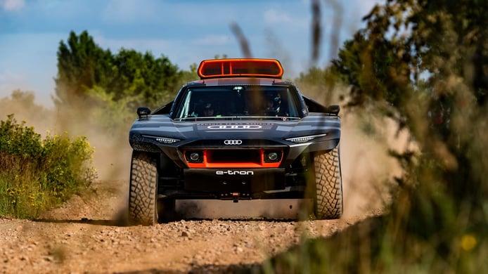 Audi RS Q e-tron: el 4x4 híbrido que cambia las normas del Dakar