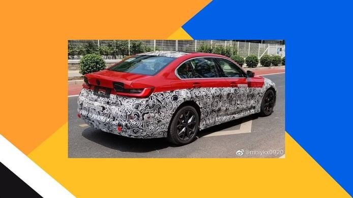 Foto espía BMW Serie 3 Eléctrico