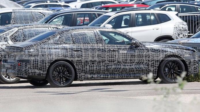 A por el Tesla Model S: El BMW i5 será una realidad y estas son sus primeras fotos