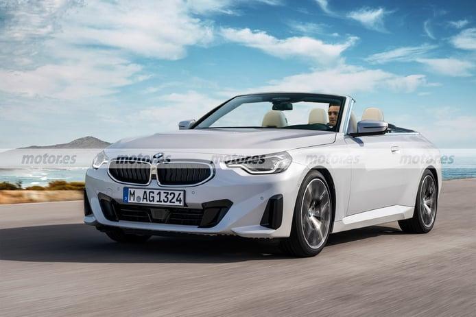 Adelantamos el diseño del futurible BMW Serie 2 Cabrio que no llegará al mercado