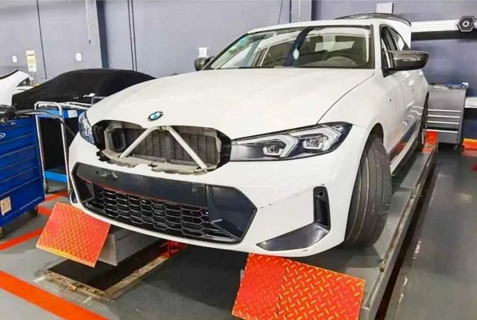 El nuevo BMW Serie 3 2023 facelift filtrado totalmente al desnudo