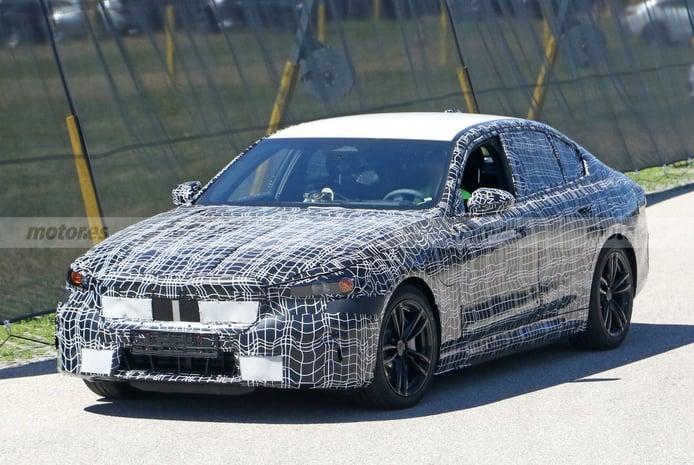 El futuro BMW Serie 5 G60 híbrido se deja ver con más detalle
