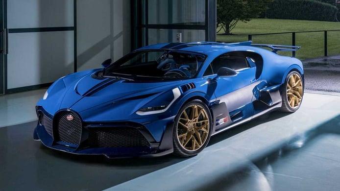 Bugatti presenta el último y espectacular ejemplar del Divo