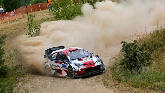 Cerrado duelo entre Kalle Rovanperä y Craig Breen en el Rally de Estonia