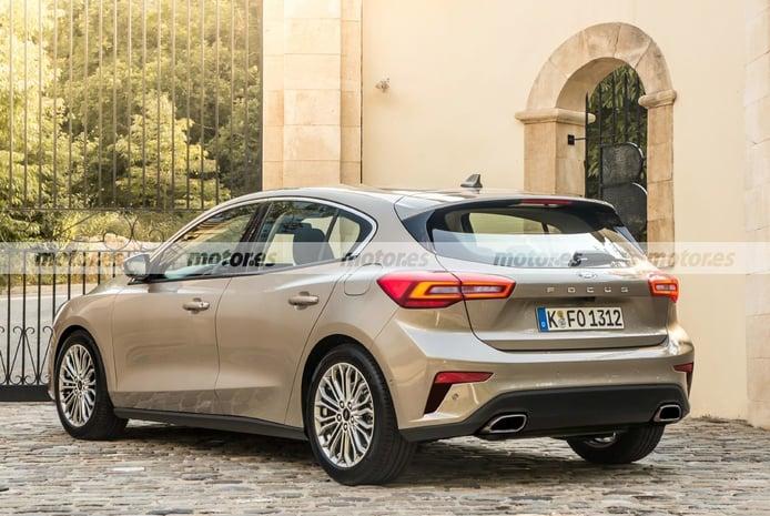Nuevo adelanto del Ford Focus Facelift 2022, un soplo de aire fresco en el compacto