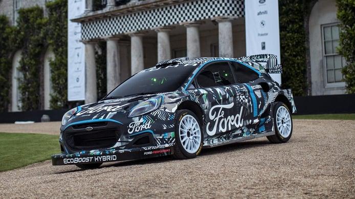 Ford Puma Rally1: la apuesta de M-Sport para la era híbrida del WRC