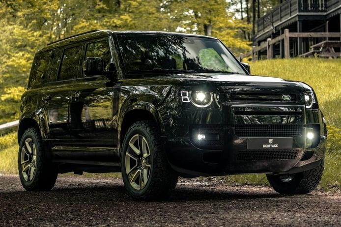 Heritage Customs hace más exclusivo al Land Rover Defender