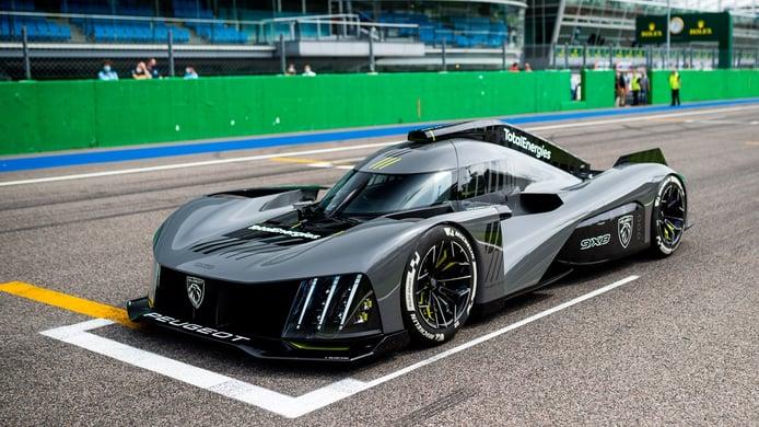 El hypercar de Peugeot competirá en IMSA bajo estética y logo de otra marca